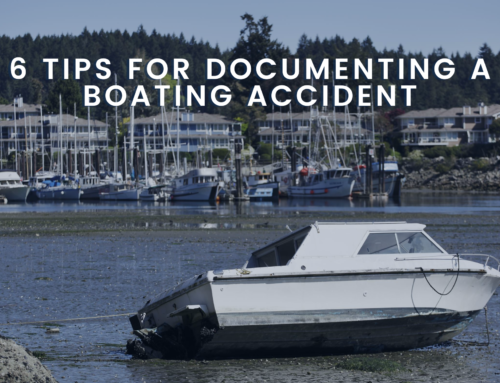 6 Tips for Documenting a Boating Accident