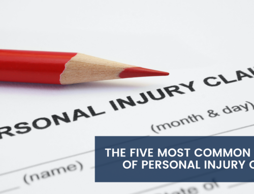 The Five Most Common Types of Personal Injury Claims