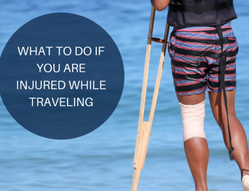What to Do if You Are Injured While Traveling