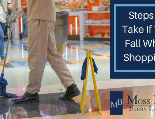 Steps to Take If You Fall While Shopping