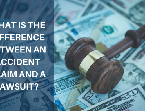 What is the Difference Between an Accident Claim and a Lawsuit?
