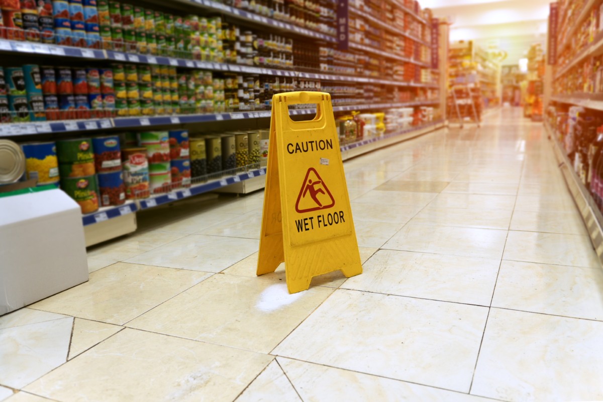 Grocery Store Accidents