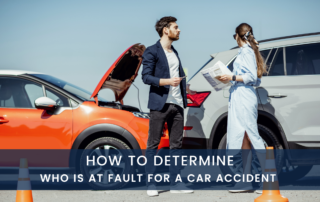 car accident lawyer explains who is at fault in an accident